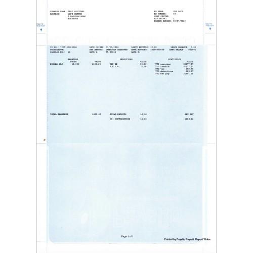 A4 Stationery -Pay Envelope