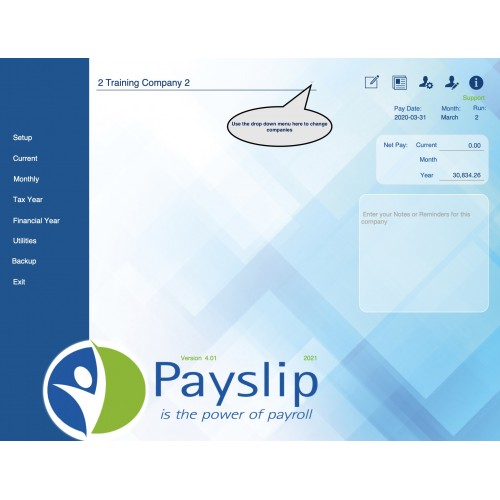 MacPayslip - For Apple Macintosh computers